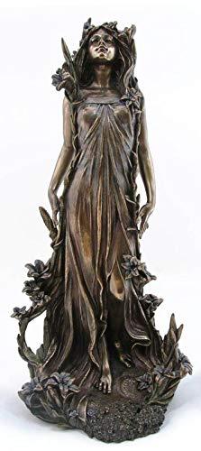 Jugendstil Nymphe Skulptur Statue Veronese Collection Alphonse Mucha Art Nouveau AN10328A4 Palazzo Exklusiv