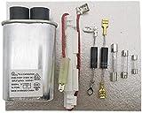 para Horno microondas estándar Galanz, Condensador de Fusible de Alto Voltaje, diodo de Alto Voltaje bidireccional, Piezas de Repuesto de Hoja de Mica Piezas de Repuesto