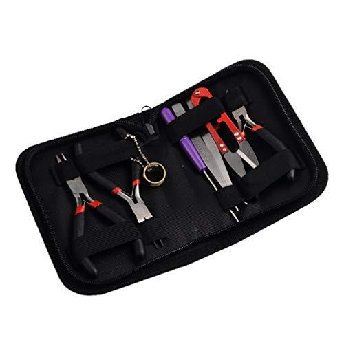 VALICLUD Mini Metall Hardware Werkzeugset Schmuck Montage Kit DIY Schraubendreher Zerlegen Werkzeug