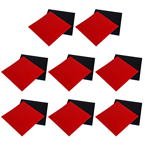 Why Should You Buy Forfar 2Pcs Ping Pong Rubber Table Tennis Rubber Table Tennis Bat Replacement Rub...