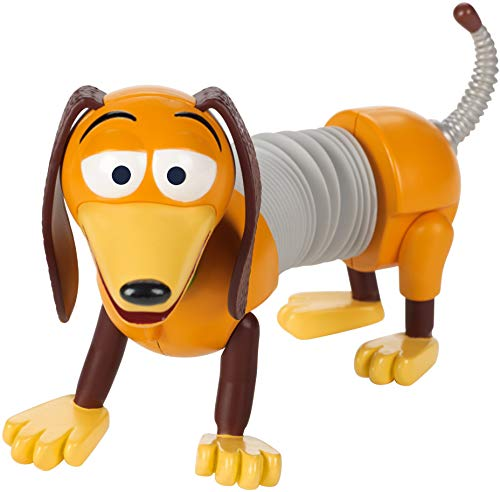 Disney Toy Story 4 Figura Slinky, juguetes niños + 3 años (Mattel GGX37)