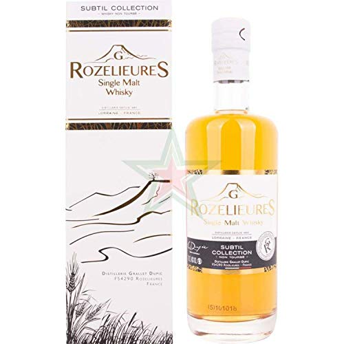 G. Rozelieures SUBTIL COLLECTION Single Malt Whisky 40,00% 0,70 Liter