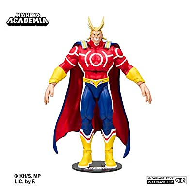 McFarlane Toys 10815 My Hero Academia All Might Red Version 18cm Action Figure, Various by Mcfarlane Toys