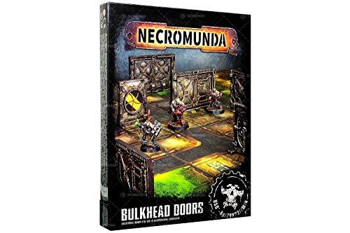 GAMES WORKSHOP 99000000000000 en Miniatura de Puertas de mamparo Necromunda