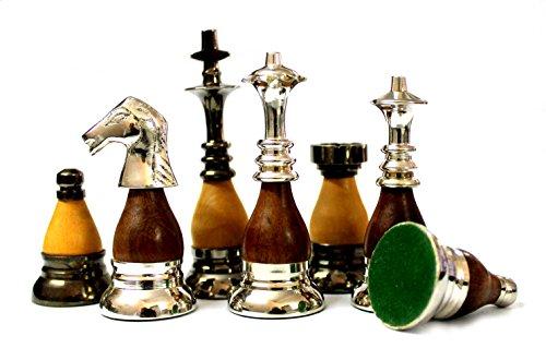 StonKraft Sammleredition Messing Schachfiguren Bauern Schachfiguren Schachfiguren Figuren (3.5