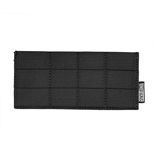 OneTigris Belt Adapter Panel Horizontal Platform for MOLLE Pouches (Black)