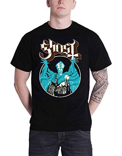 Ghost T Shirt Opus Eponymous Papa Band Logo New Officieel heren