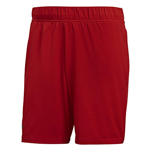 Adidas Barricade sportkleding voor tennis (korte broek, volwassenen, mannelijk, rood