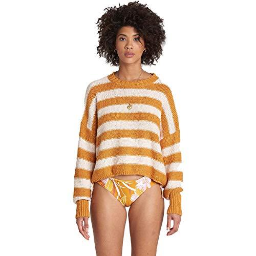BILLABONG Damen Sweater Pullover, Golden Haze, Klein