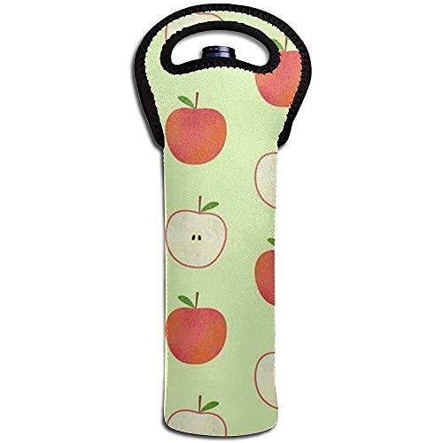 Süße Fruchtwein Tote Tragetasche Geldbörse für Champagner, Wein, Wasserflaschen 15 x 38 cm