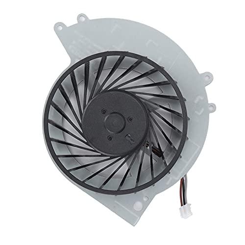 Goshyda Ventilador de refrigeración para Juegos, disipador de Calor de Repuesto con Conector de 3 Clavijas para Sony Playstation 4 / PS4‑1200 / CUH ‑ 1215a