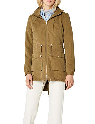 ONLY Damen onlSTARRY Long Jacket CC OTW Parka, Grün (Military Olive Military Olive), 40 (Herstellergröße: L)