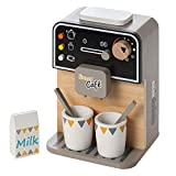 Howa Kaffeemaschine aus Holz incl. 7 TLG. Zubehör 4885
