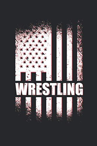 Wrestling American Flag: Termin- & Wochenplaner ohne Datum - Mit To-Do-Listen und Prioritäten Organizer - Terminkalender für Wrestler, Wrestling Fans, ... und Singles - Geeignet für Büro und Freizeit