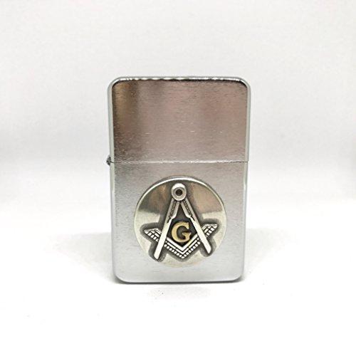 Freemasons Thunderbird Vector Pocket Lighter Stainless Steel Single Torch Cigar Lighter – Cigar Cutters by Jim