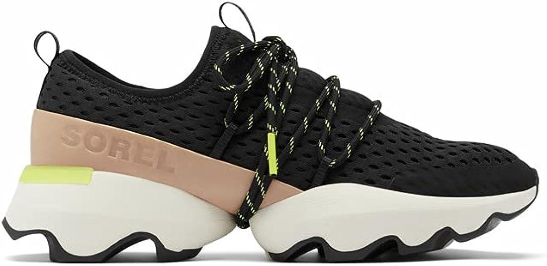Sorel Womens Kinetic Impact Lace Sneaker — Lightweight Mesh LeatherSneakers