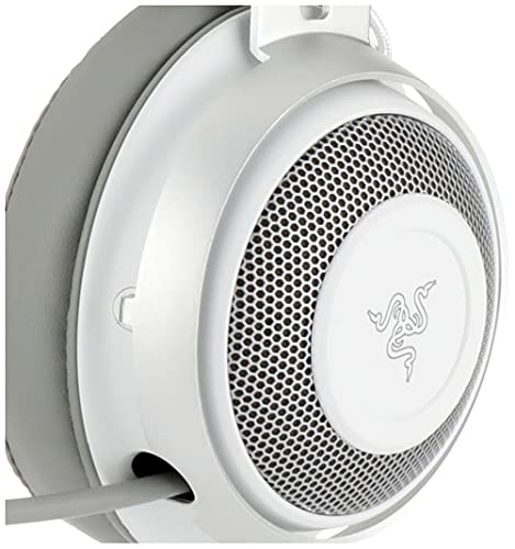 RazerKrakenMercuryWhiteゲーミングヘッドセット3.5mm冷却パッドPS4PS5PCSwitchスマホ【日本正規代理店保証品】RZ04-02830400-R3M1