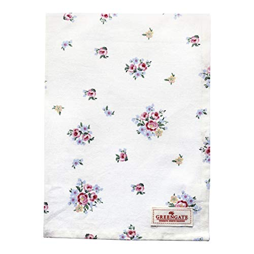 GreenGate Tea Towel Nicoline White
