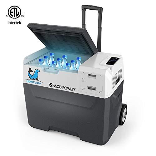 ACOPOWER LiONCooler X40A Rechargeable Solar Fridge Freezer,...