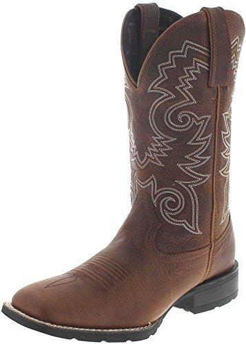 Durango Boots Mustang DDB0083 Brown/Herren Westernreitstiefel Braun/Westernstiefel/Herrenstiefel/Work Boots, Groesse:47 (13 US)