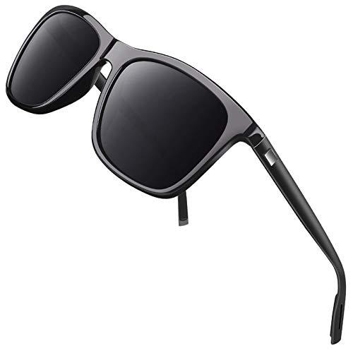 GQUEEN Occhiali da Sole da Uomo Donna Polarizzati TEMPIO DI AL-MG Stile con Lenti Polarizzate GQ33