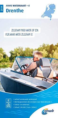 Waterkaart 04 Drenthe 1:50 000 (ANWB waterkaart (4))