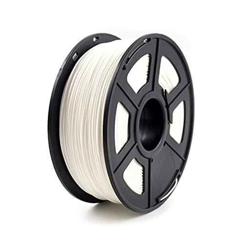 Hanlili, filamento per stampante 3D, in ABS, 1,75 mm, 1 kg, materiale di consumo in plastica ABS, per stampante 3D e penna 3D, filamento ABS (colore : W- hite)