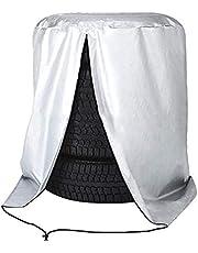 """ValueHall Bandenhoes Buiten Tire Cover Waterdicht Stofdicht Bandentas Geschikt voor 4 Banden tot 32""""Diameter V9A02 (82 x 120cm)"""