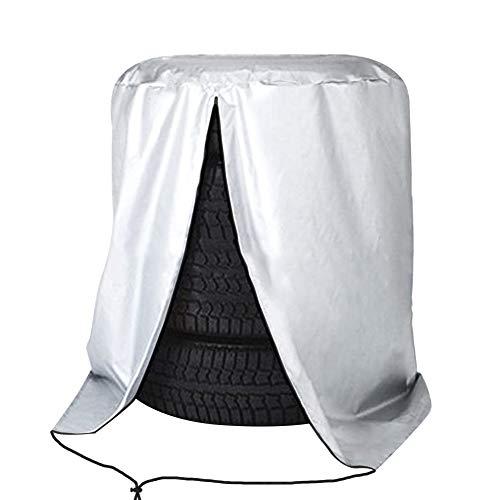 ValueHall Reifentasche Reifenabdeckung Wasserdicht Reifenschutzhülle Autorädertaschen Reifensack für 4 Reifen bis 32Zoll Durchmesser V9A02 (73 x 110 cm)
