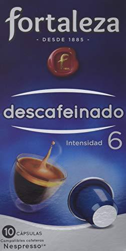 Café FORTALEZA - Cápsulas de Café Descafeinado Compatible