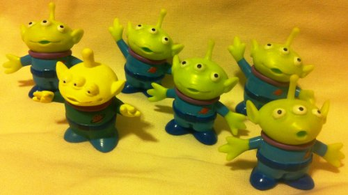 Great Features Of Disney Pixar Toy Story, Party Favor Favors Give Aways Goody Bag Fillers Set of 6 L...