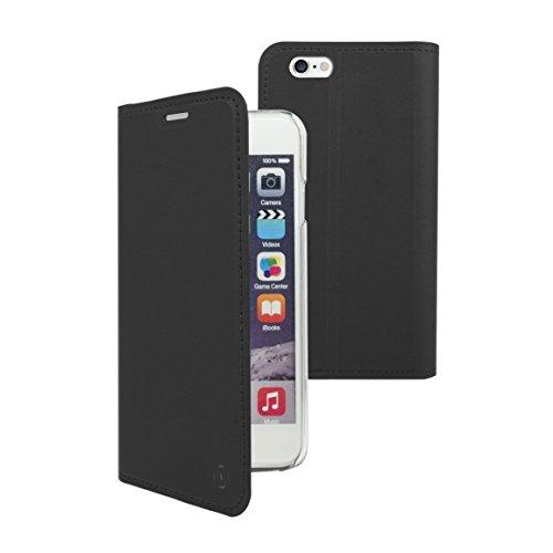 Muvit Folio Stand - Funda con función Soporte y Tarjetero, para Apple iPhone 8 Plus/7 Plus, Color Negro