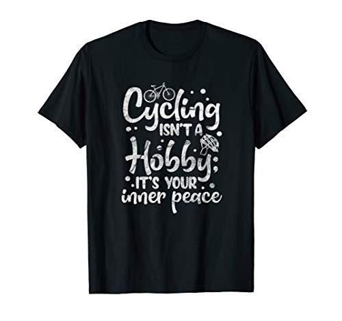Cycling Biking MTB Mountain Bike Biker Bicycle Quote T-Shirt