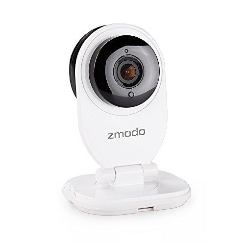 ZMODO ZM-SH721 WiFi Mini Kamera/Babyphone/EZCam (1 Megapixel HD) mit 2-Wege Audio, Nachtsicht und Wolken Anzeigen via Browser