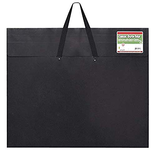 Star Products 23-Inch by 31-Inch by 2-Inch Dura Tote Classic Black Poly Portfolio