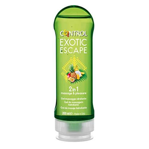 Control Exotic Escape Gel de Masaje Corporal - 200 ml