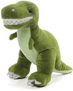 Personalized Chatter Dinosaur Green T-Rex Dino with Sound Plush Stuffed Toy