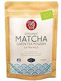 Matcha Tee Pulver | Bio Zeremonie Qualität für extra milden Teegenuss | Ideal für Tee, Smoothies und Lattes | 108g, DE-ÖKO-039 Zertifiziert, [Ceremonial Grade Green Tea] vom Matcha 108