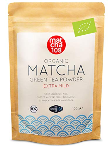 matcha 108 108-108g in Premium Qualität Grüner aus Bild