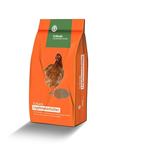 Schkade Landhandel GmbH Legekorn RoVoMil (3 mm pelletiert) - Hühnerfutter gegen Milben (10 kg)