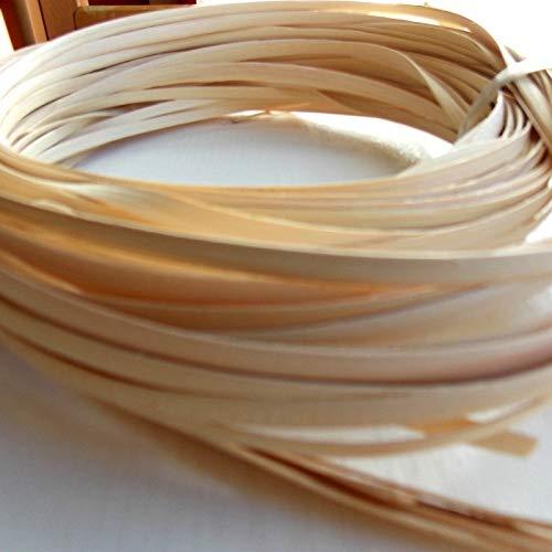 Zita's Creative Peddigrohr Schilfschiene 5mm - 10 dkg Flechten, Korbflechten, Schilf Set, Peddigrohr, Flechtmaterial, Flechtset, Rattan