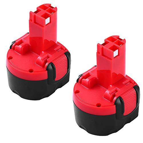 2X 3000mAh Ni-MH Reemplazo para Bosch 9.6V Batería BAT048 BAT100 BAT119 2607335272 2607335461 PSR960 GSR9.6 BH984 BPT1041 PSR960 GSR 9.6V 9.6VE-2 PSR960 23609 32609-RT
