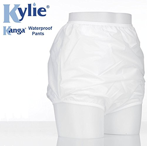 Kanga Unisex incontinentieslips, waterdicht, maat M, 91-96 cm, wit