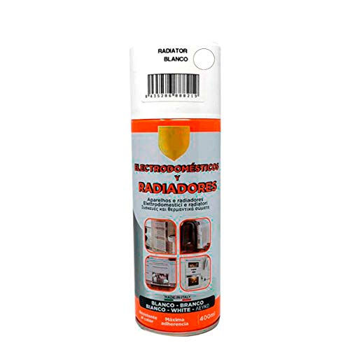 Pintura Spray Radiador Blanco 400 Ml