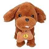 Emoshayoga Juguetes eléctricos Juguete electrónico del Sonido del niño de la Inteligencia del Perro del Animal doméstico para el Juguete casero(Dog)