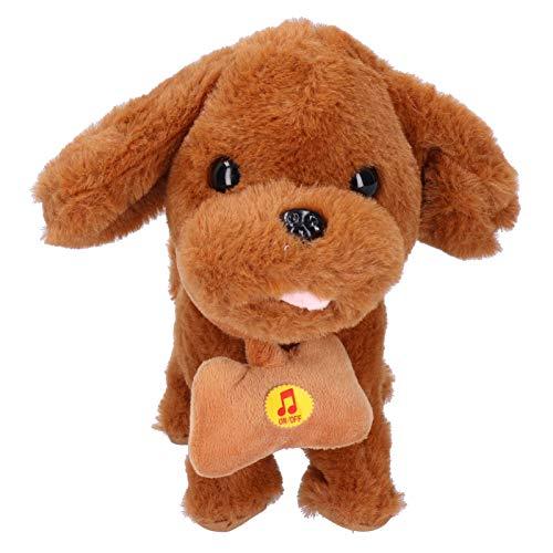 SALUTUY Juguetes eléctricos, Juguete con Sonido para niños, Suave y cómodo, Perro Mascota electrónico multifunción para niños para Regalo...