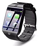 SHYLOC Z09 Bluetooth Smartwatch for Men | Android 4G Phone Watch with Camera/SIM Card Slot Sports...