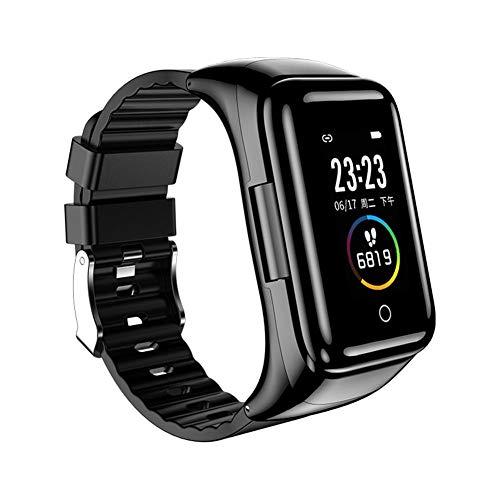 Jinclonder M7 - Pulsera para auriculares Bluetooth 2 en 1, TWS puede hablar 5.0 con el Smartwatch M3 con el oído Bluetooth, permanece sincrónico y elegante con comodidad y claridad continua.
