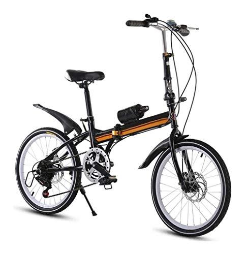 Buy Folding Bikes, 16 Inch Lightweight Alloy Folding City Bicycle Bike, Mountain Bike For Adult Stud...