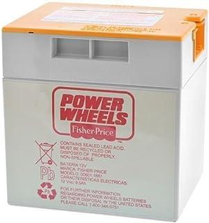 Fisher Price 00801-1661 - Ruedas de alimentación (12 V, batería de color naranja)